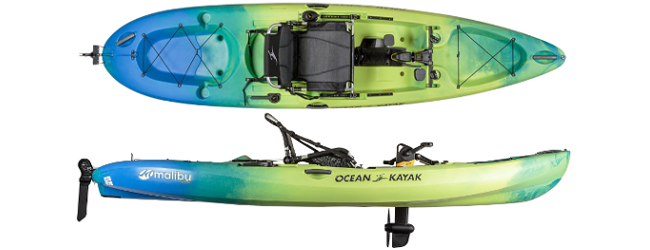 Image of the Ocean Kayak Malibu PDL Kayak