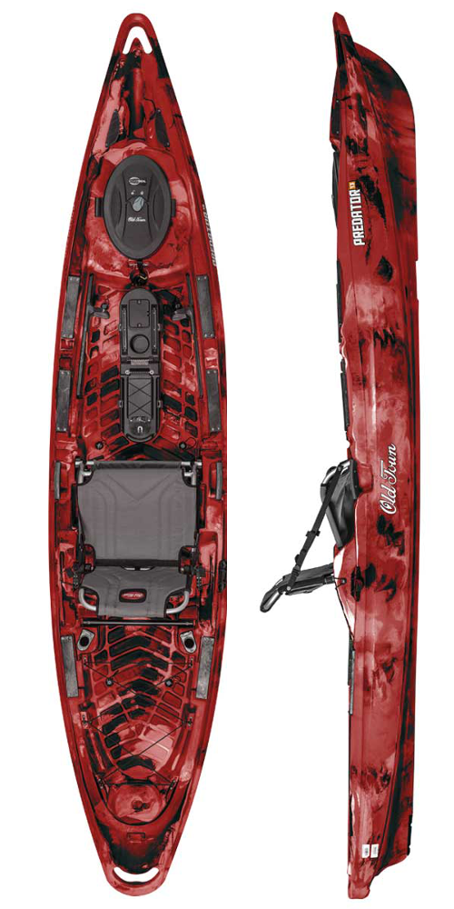 Predator 13 in Red Camo