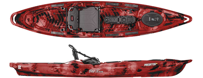 Image of the  Predator 13 Kayak