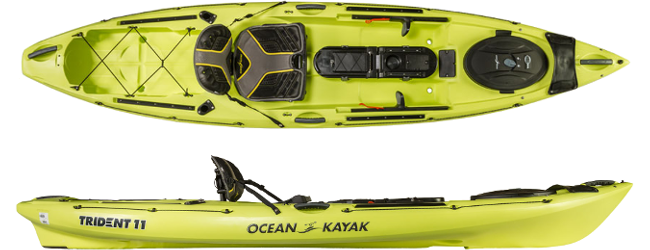 Image of the  Trident 11 Kayak