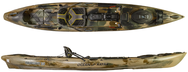Image of the  Trident 13 Kayak
