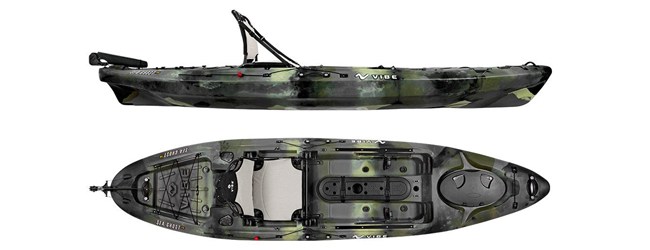 Image of the  SeaGhost 110 Kayak