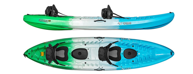 Image of the Vibe SkipJack 120 Kayak